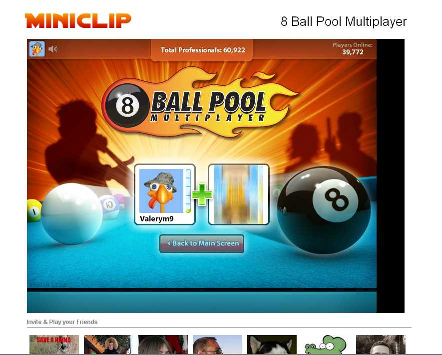 Miniclip запустили бильярд 8-ку.   1,5 миллиона пользователей сыграли хотя бы раз в 8 Ball Pool Multiplayer. Сейчас  ... - Изображение 3