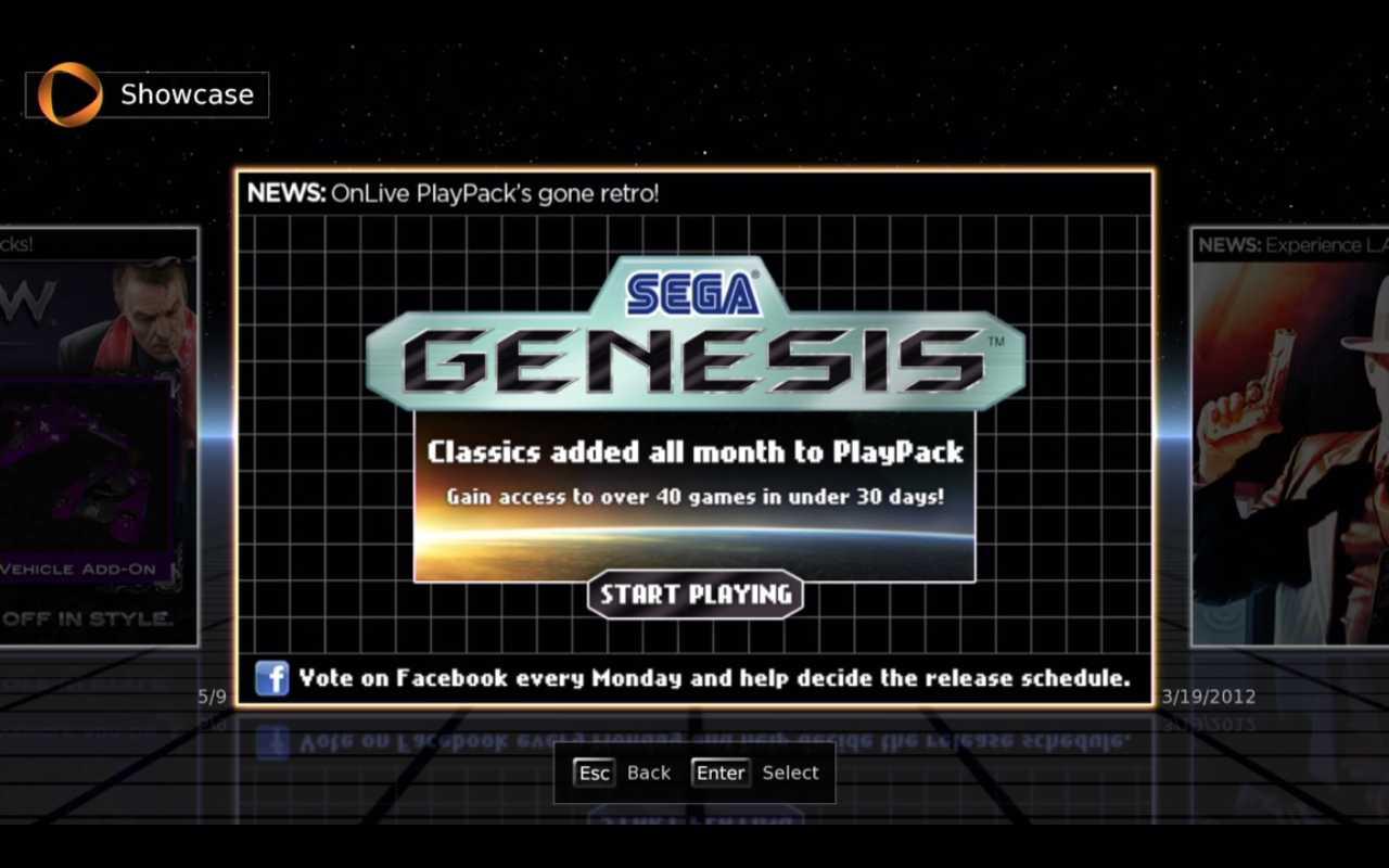 Прикольно, в игровом сервисе ONLIVE можно поиграть в игры Sega Genesis.  Вчера даже поиграл в Sonic и Streets of Rag ... - Изображение 1