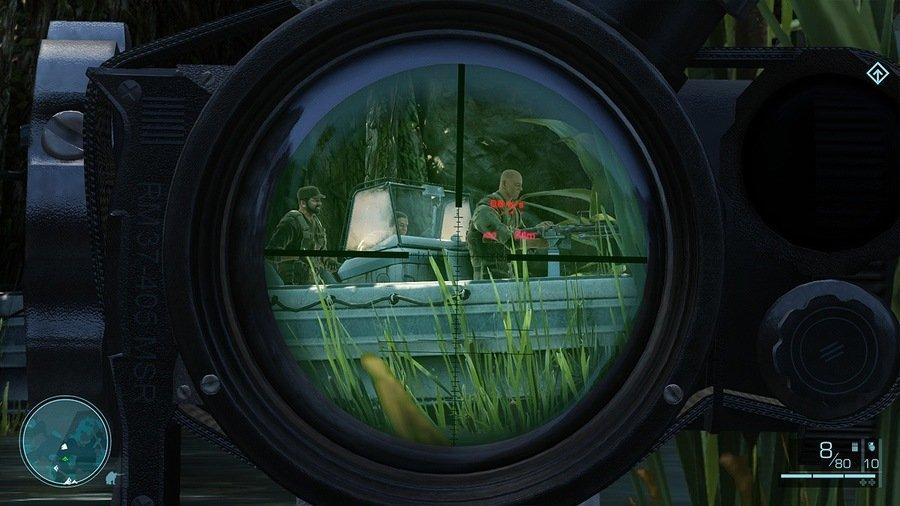 Все скриншоты снайпер воин призрак 2