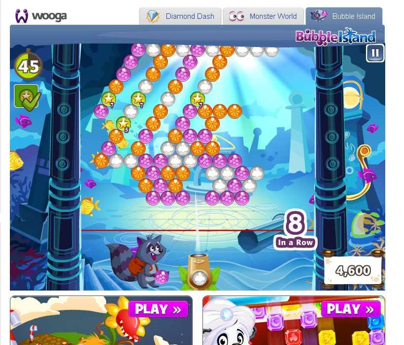 Вот играю в Bubble Island от Wooga на недельный рейтинг. Не покупая бонусы набрал 78590 очков. Купил один бонус - на .... - Изображение 2