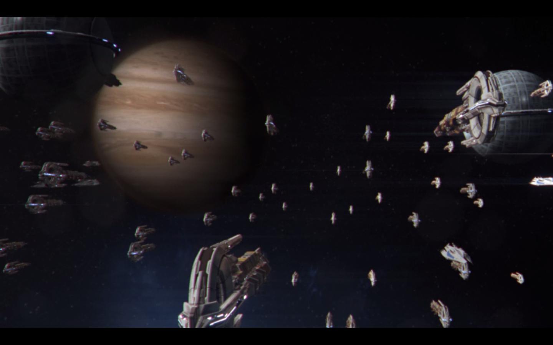 Мигрирующий флот — место жительства разумной расы гуманоидов кварианцев. Флот состоит из множества кораблей (около 5 ... - Изображение 2