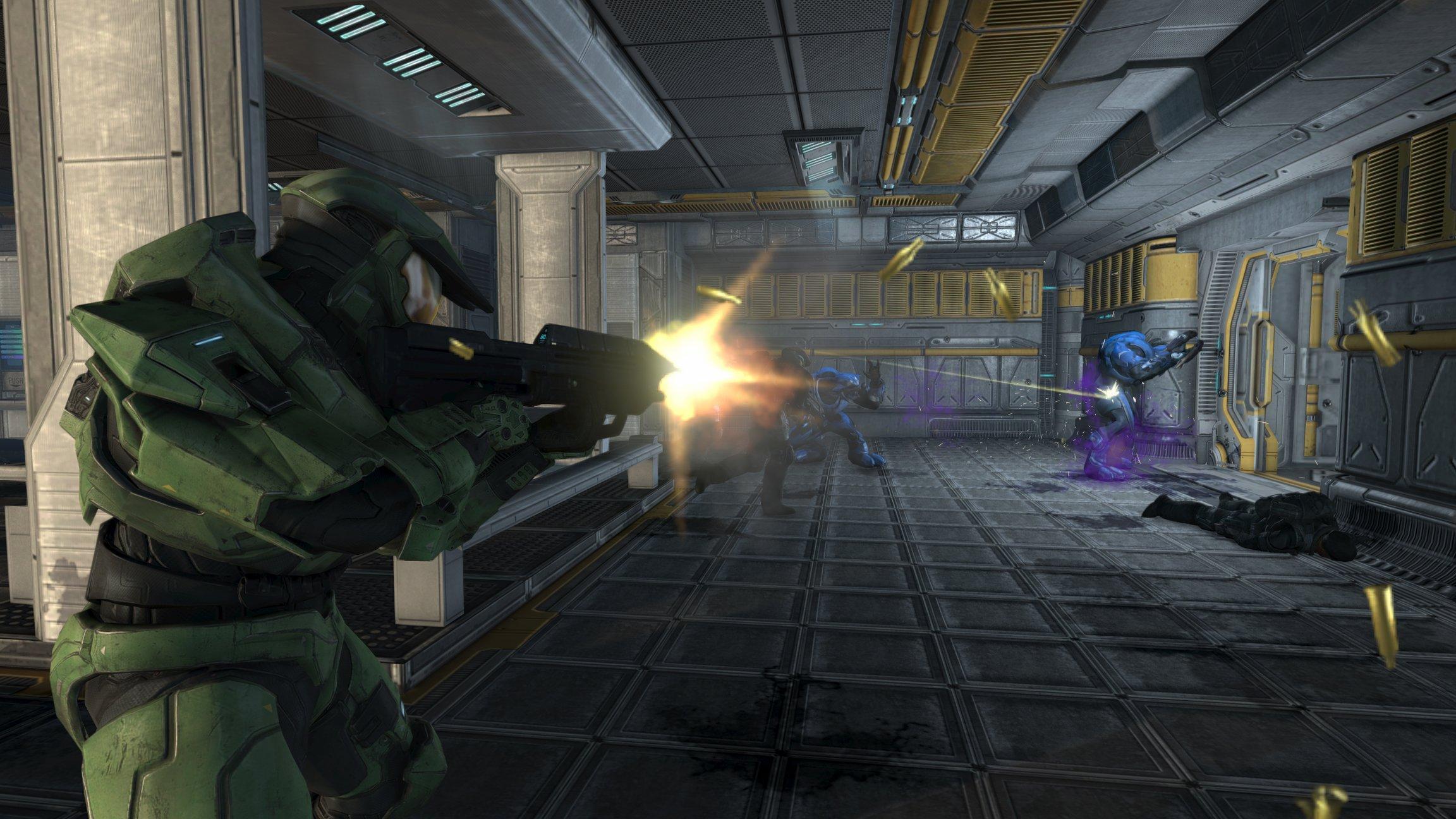 Здравствуйте уважаемые пользователи Канобу.Сегодня,хочу представить вам рецензию на игру Halo:Combat Evolved Anniver ... - Изображение 2