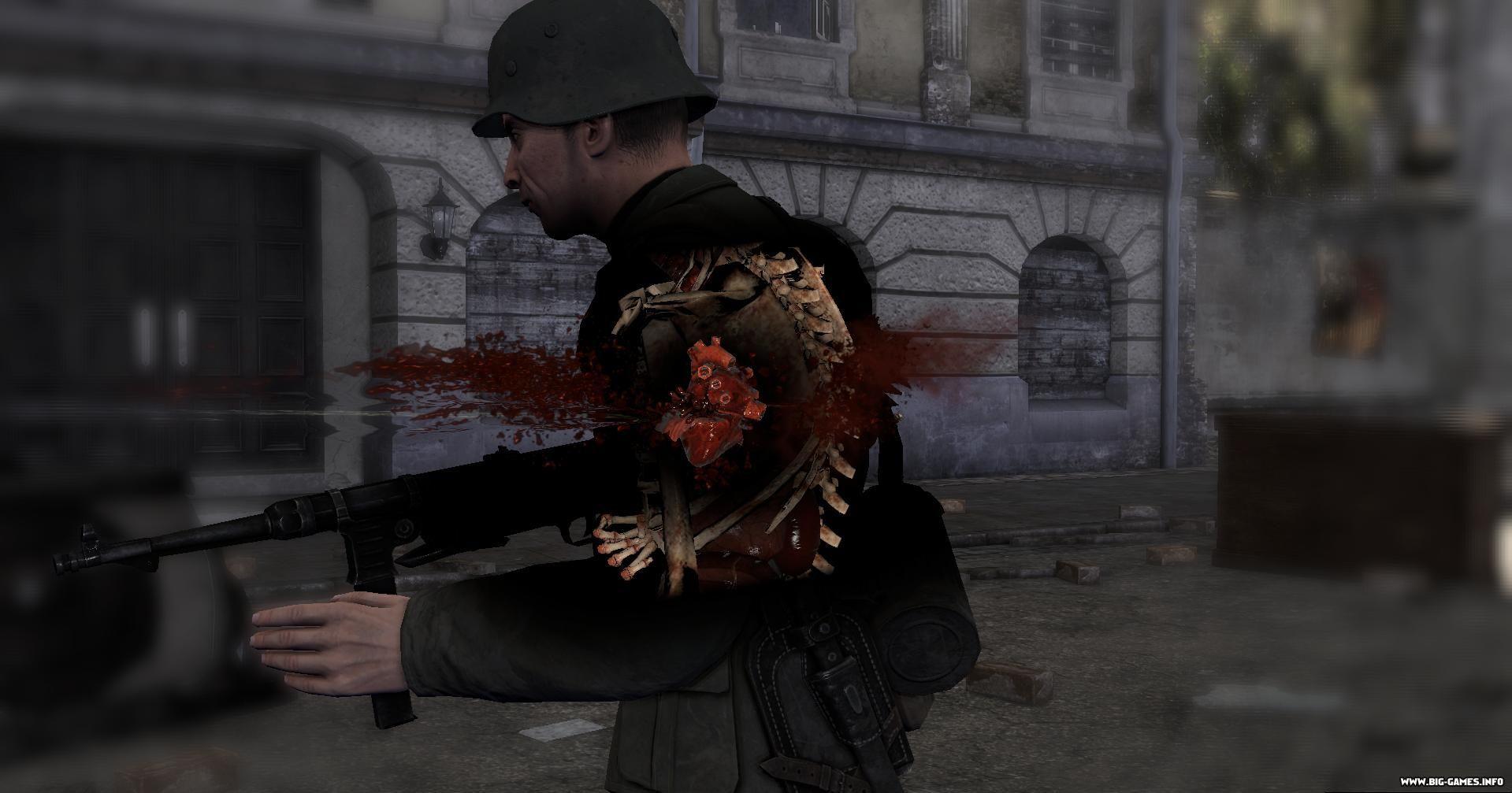 B Игра Sniper Elite v2/b- обзор, скриншоты, дата.