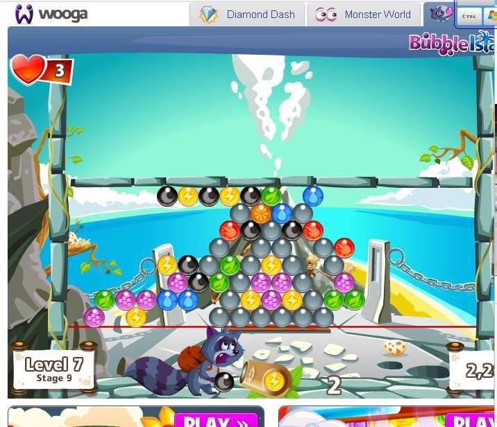 Представляете, играю в Bubble Island, в основном казуально, то есть на очки. Компанию забросил из-за довольно высоко ... - Изображение 1