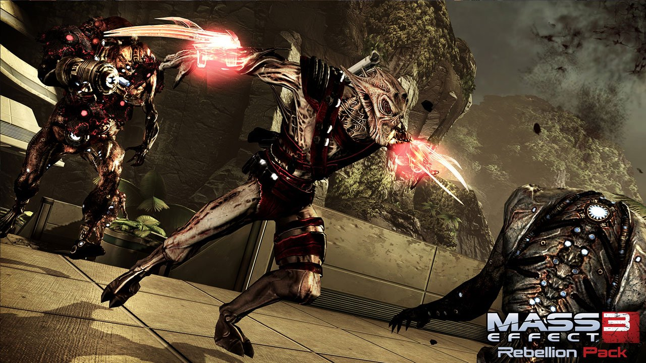 Mass Effect 3: Rebellion Pack добавит новых героев - Изображение 1