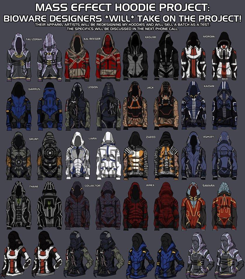 BioWare выпустит серию одежды по Mass Effect - Изображение 1