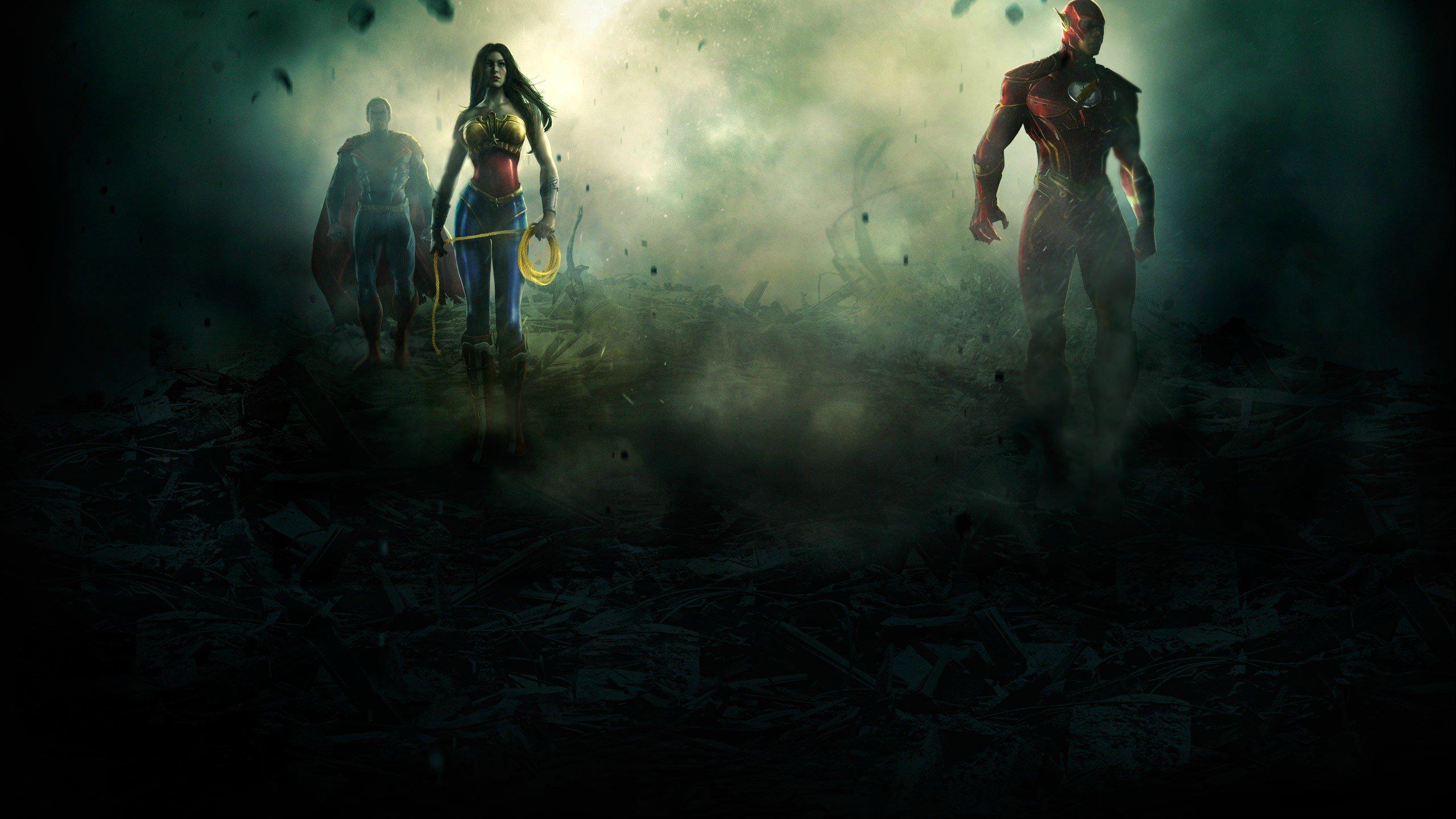 Сегодня состоялся анонс нового файтинга по вселенной DC Comics под названием Injustice: Gods Among Us. Разрабатываем ... - Изображение 2