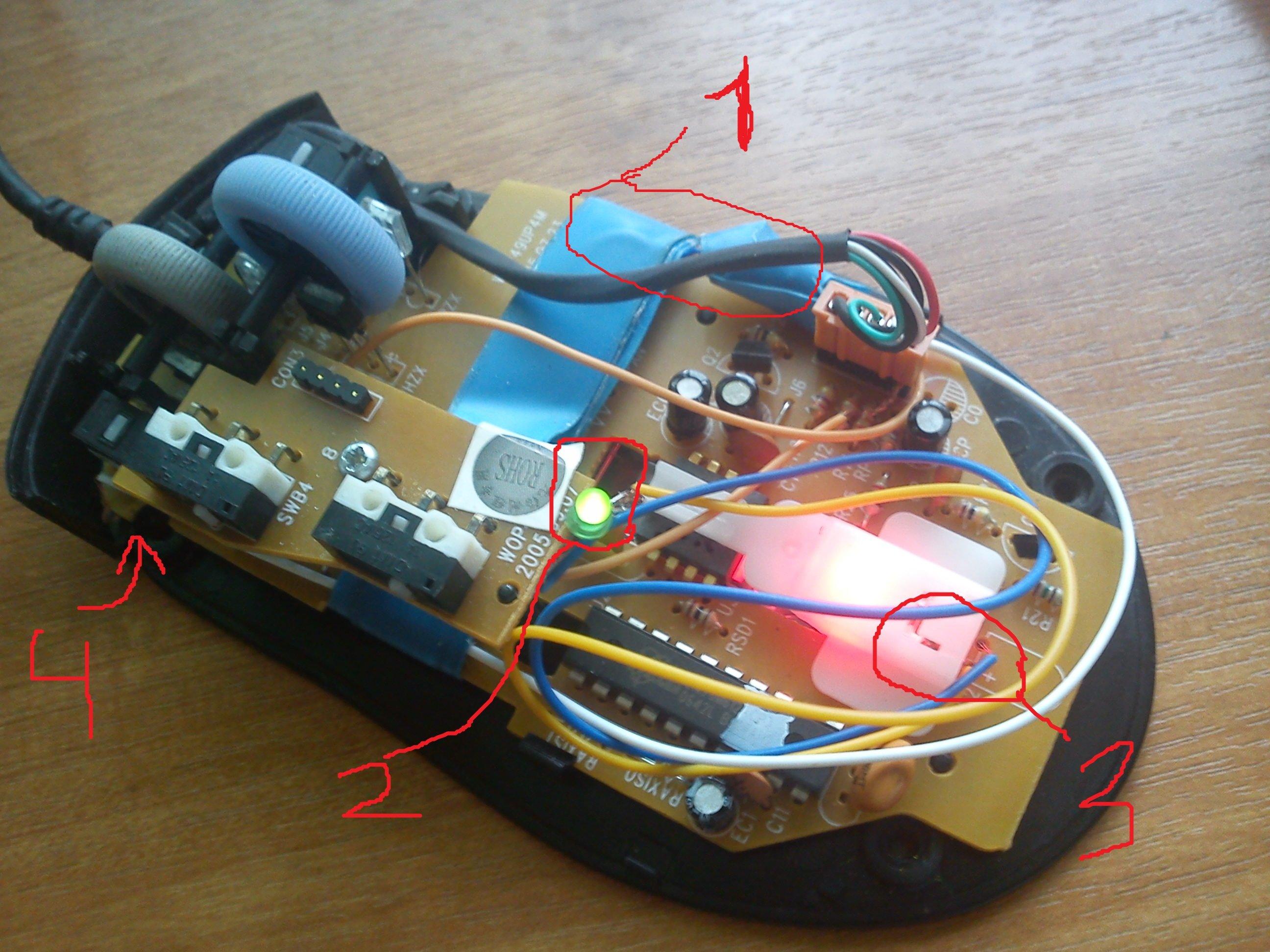 Лет 6 назад один мой приятель подарил мне старую мышку  A4Tech WOP-49(Z), которая верой и правдой служит мне по сей  ... - Изображение 2