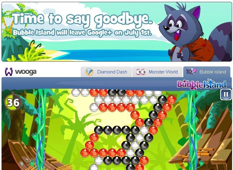 Wooga закрывает Bubble Island. Ура!  Enjoy! - Изображение 1
