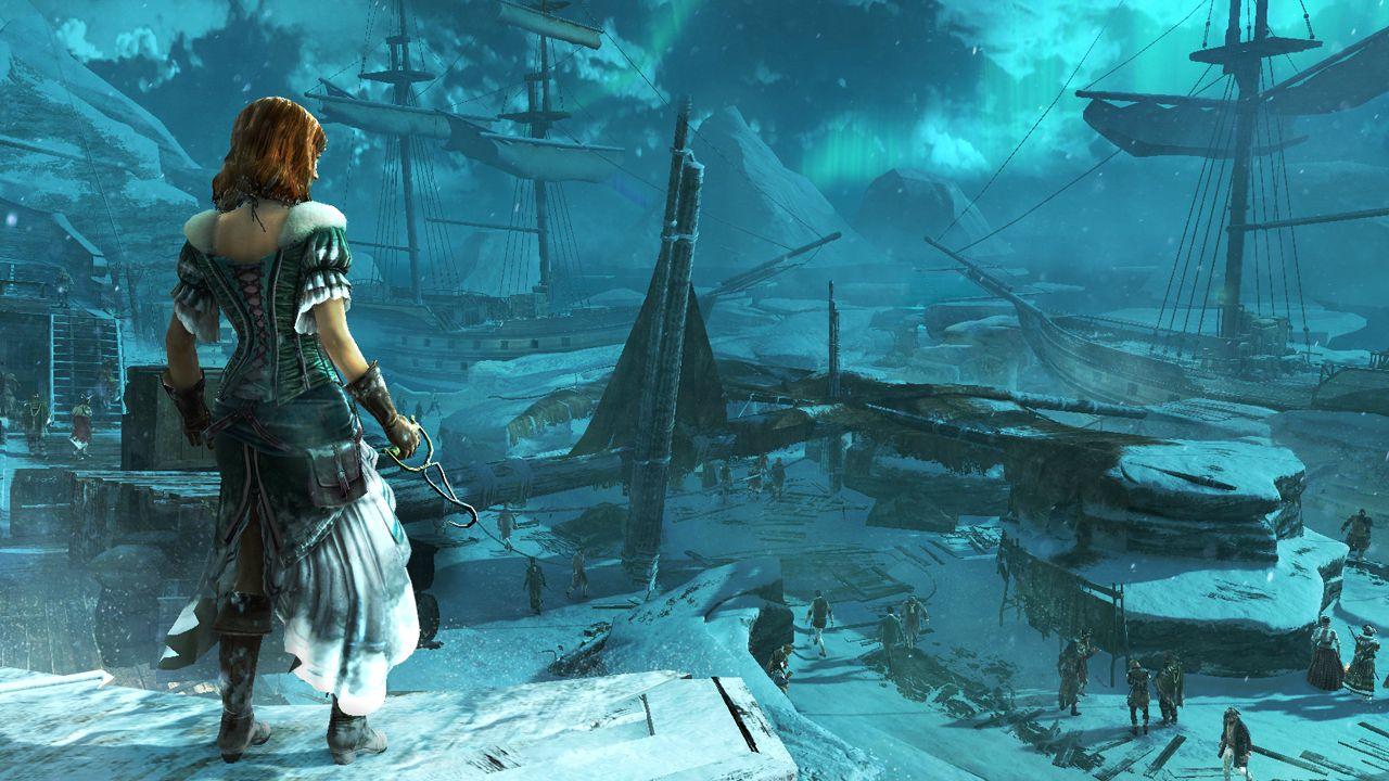 Ubisoft выкинула в сеть первые скриншоты ACIII. На трех кадрах изображена одна из карт сетевого режима кладбище кора ... - Изображение 2