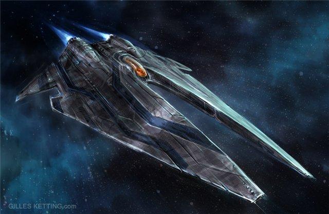 Крейсеры.Звездолёты этой серии несут службу в турианском флоте и во Флоте Цитадели, вероятно являясь самым массовым  ... - Изображение 2