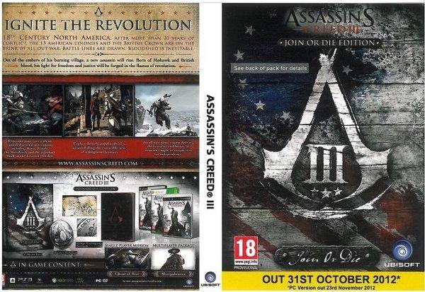 Ubisoft отложила PC-версию Assassin's Creed III - Изображение 1