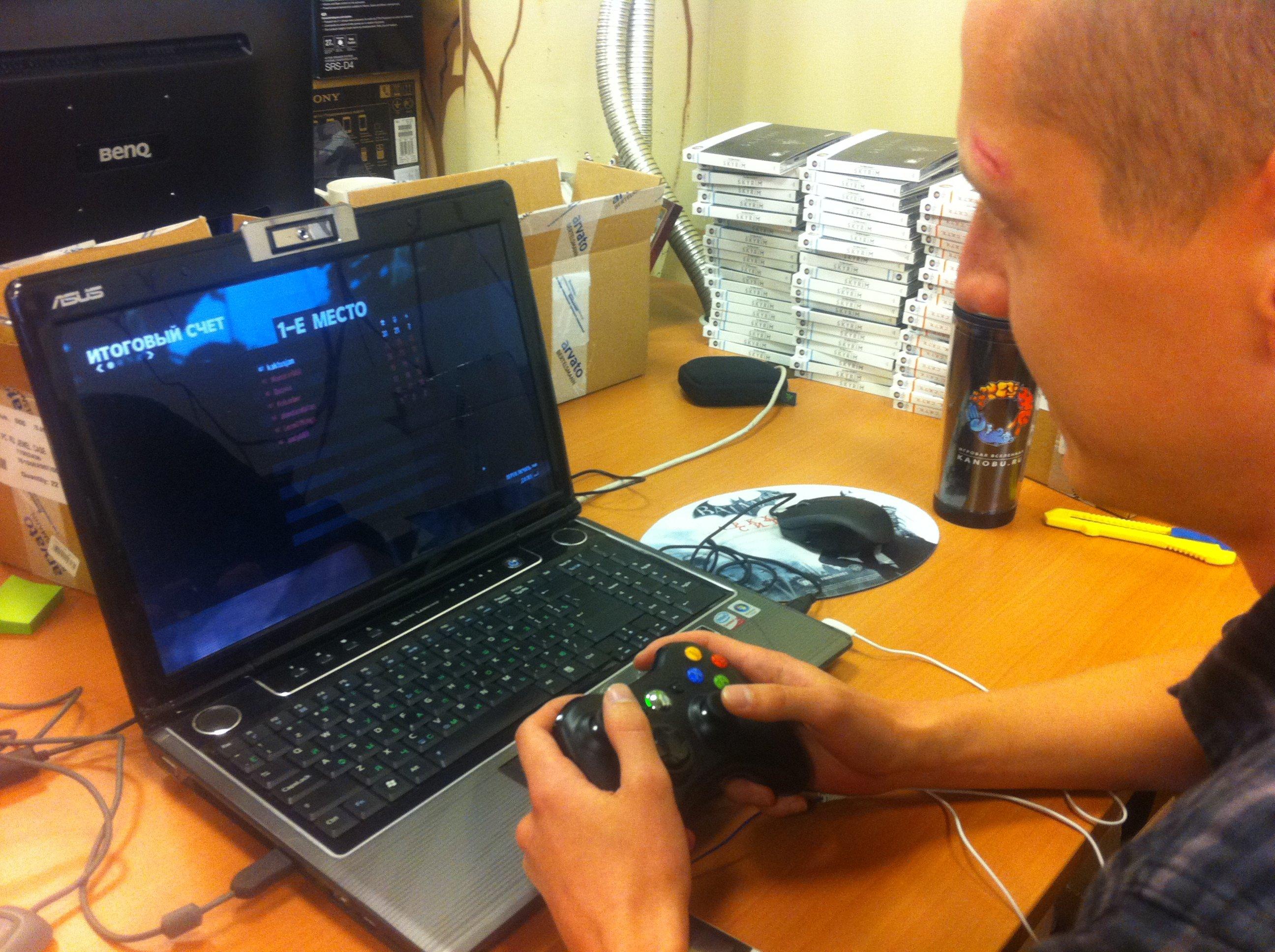 Холст, масло, ПК, геймпад, лучший игрок матча в Max Payne 3 с отрывом в 11 очков. Контент-менеджер EPIC | КанобуАлек ... - Изображение 1