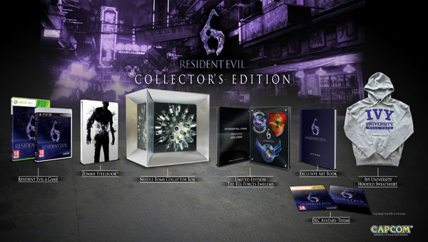 Компания Capcom анонсировала коллекционное издание хоррор-экшена Resident Evil 6, которое будет включать в себя след ... - Изображение 1