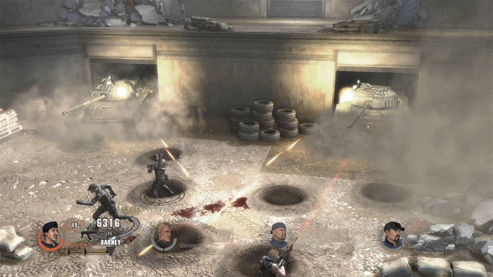"""Игра по """"Неудержимым 2"""" стала скачиваемым аркадным шутером - Изображение 4"""