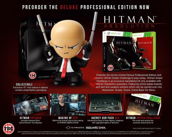 Анонсирована коллекционная версия Hitman: Absolution. - Изображение 1