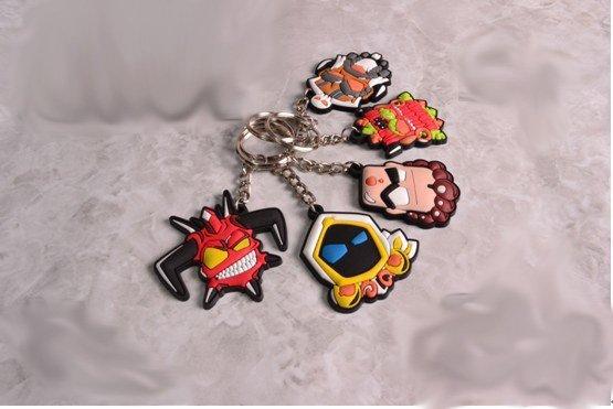 Один из фанатов Диабло 3 создал мини коллекцию милых, тематических брелков. Брелки созданы по мотивам Диабло 3, с иг ... - Изображение 1