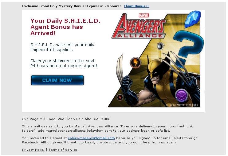 Ох, уж эти Mystery Disney-Marvel-Playdom. Стоит запостить картинку из Marvel Avengers Alliance как в этот же день ил ... - Изображение 1