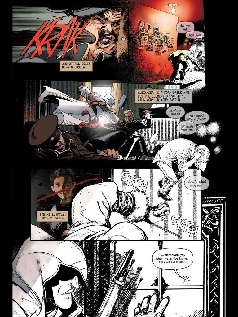 Комикс Assassin's Creed про русского цареубийцу вышел на iPad - Изображение 2