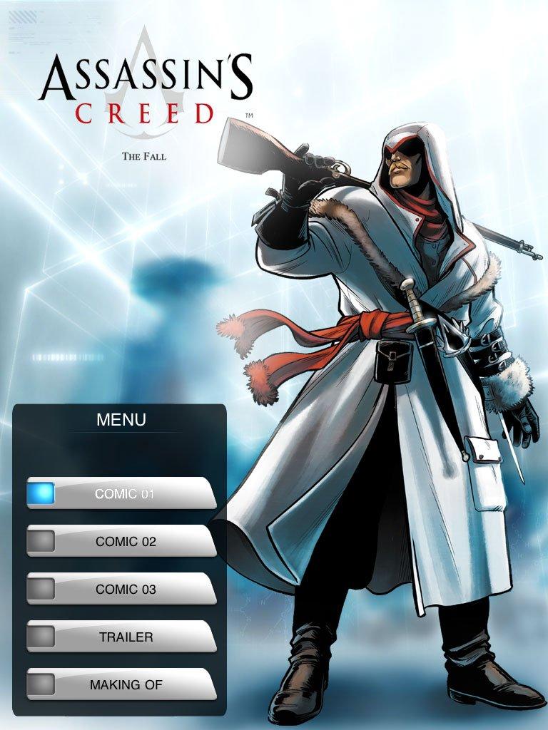 Комикс Assassin's Creed про русского цареубийцу вышел на iPad - Изображение 1