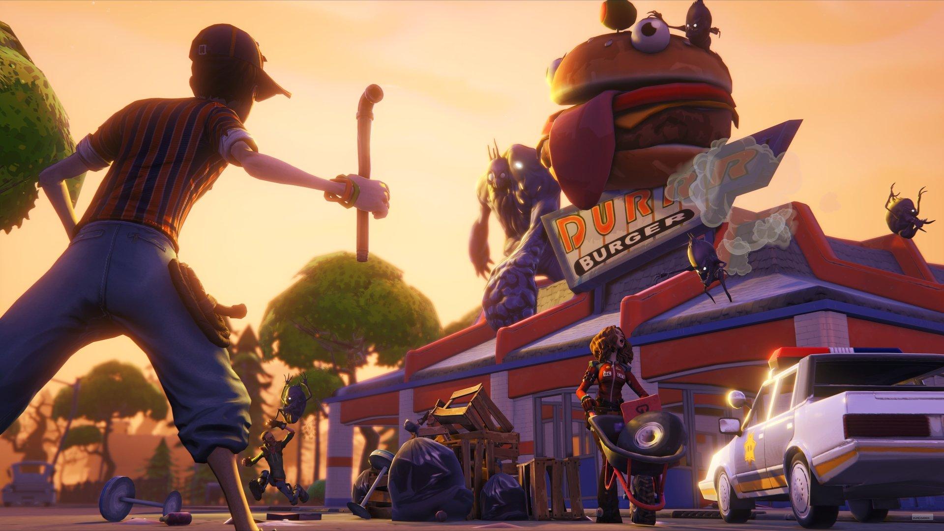 Первой игрой на Unreal Engine 4 станет мультяшный зомби-шутер - Изображение 4