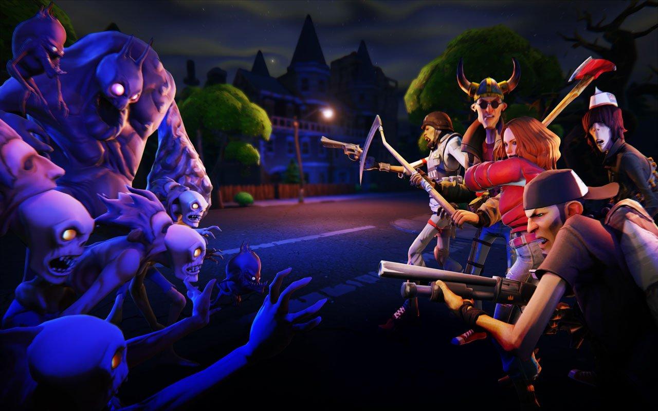 Первой игрой на Unreal Engine 4 станет мультяшный зомби-шутер - Изображение 5