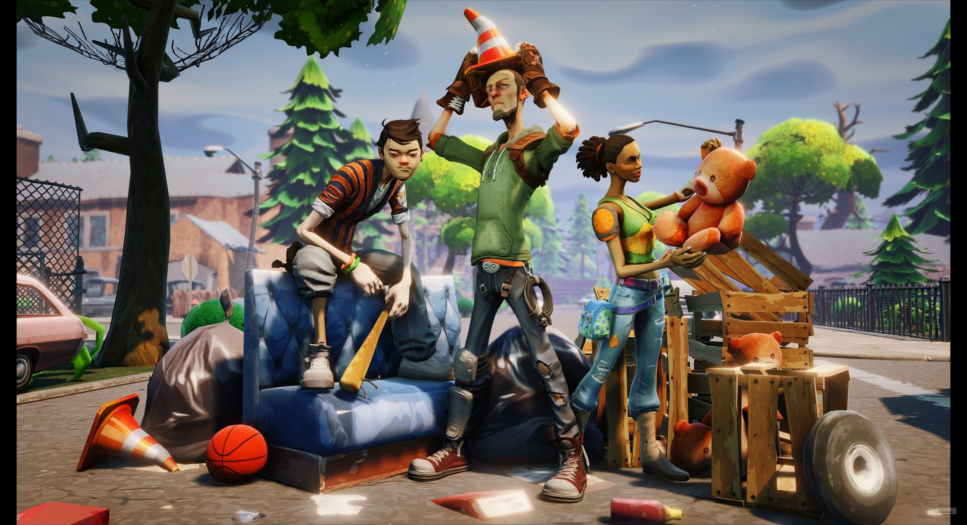 Первой игрой на Unreal Engine 4 станет мультяшный зомби-шутер - Изображение 3