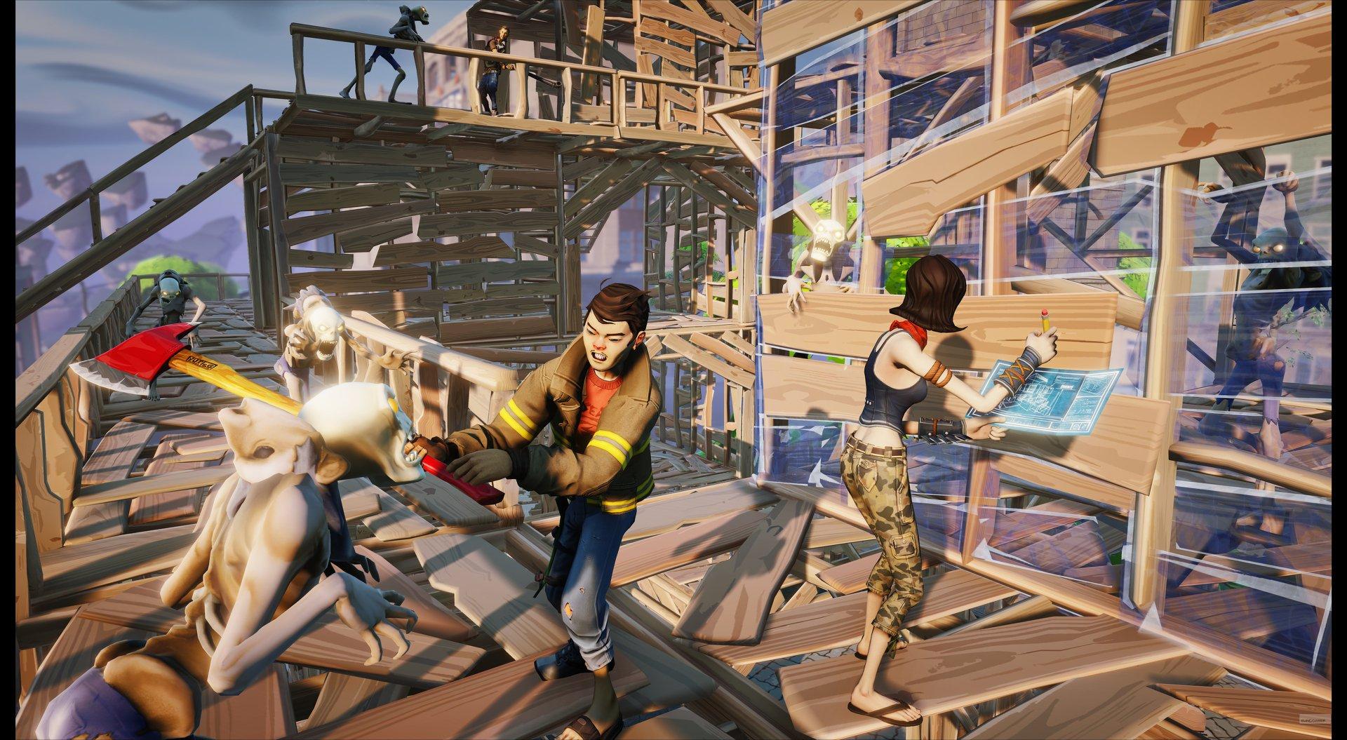 Первой игрой на Unreal Engine 4 станет мультяшный зомби-шутер - Изображение 2