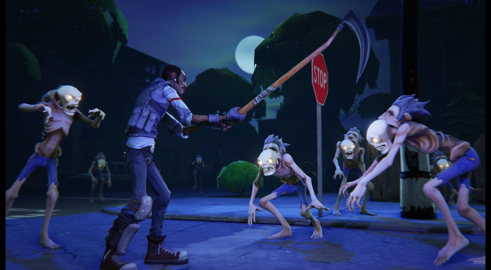 Первой игрой на Unreal Engine 4 станет мультяшный зомби-шутер - Изображение 1