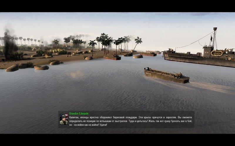Интересно, а разработчики В тылу врага 2: Штурм (Men of War: Assault Squad) правда ставили камеру в глаза юнита? Хот ... - Изображение 1