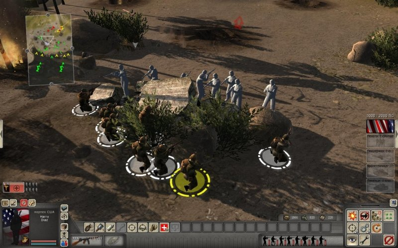 Интересно, а разработчики В тылу врага 2: Штурм (Men of War: Assault Squad) правда ставили камеру в глаза юнита? Хот ... - Изображение 3