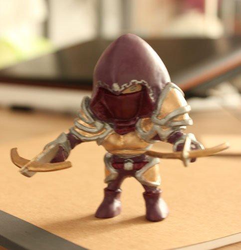 Фанаты Diablo 3 не перестают удивлять. Мы представляем вам очередную, удивительную арт-работу. Эту фигурку охотника  ... - Изображение 1