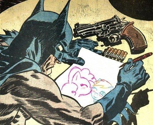 Давайте сочинять лимерики по Батману. Из любых игр, фильмов, комиксов, наборов лего. Я начну:Жил да был в городишке  ... - Изображение 1