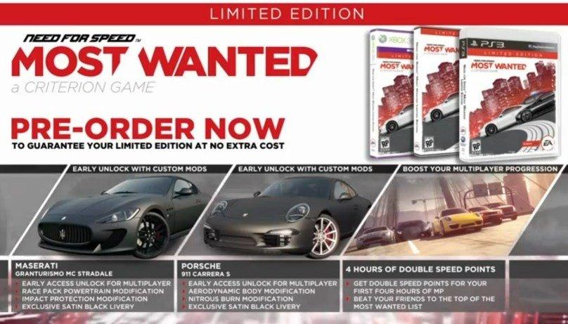 Need for Speed: Most Wanted возможно получит поддержку Kinect. - Изображение 1