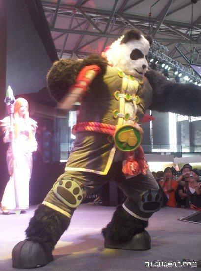 China Joy 2012 провели официальную выставку в Шанхае. Вот несколько фотографий с China Joy Косплея на Пандарена и др ... - Изображение 1