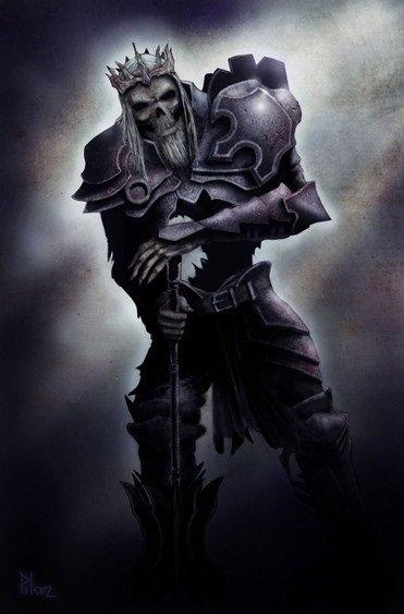 Tepes выпустил множество арт-работ по Diablo 3. На этот раз, смотрим историю Короля Скелетов – Леорика. - Изображение 1
