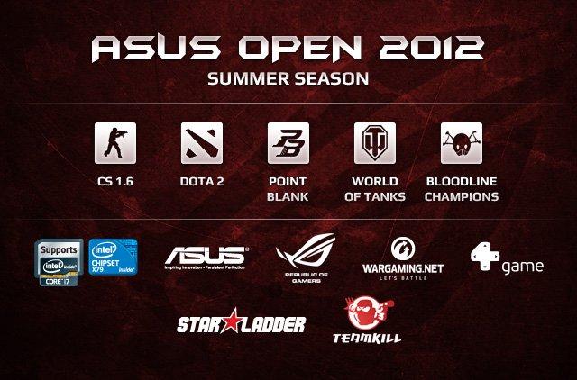 Началась регистрация на летний квалификационный этап ASUS Summer Cup 2012 в пяти киберспортивных дисциплинах. Конец  ... - Изображение 1
