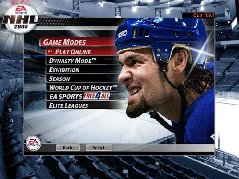 Мой знакомый в NHL, его даже поставили в меню игры NHL 2005, в которую я часто играю и сейчас.  Мы даже ходили вмест ... - Изображение 1