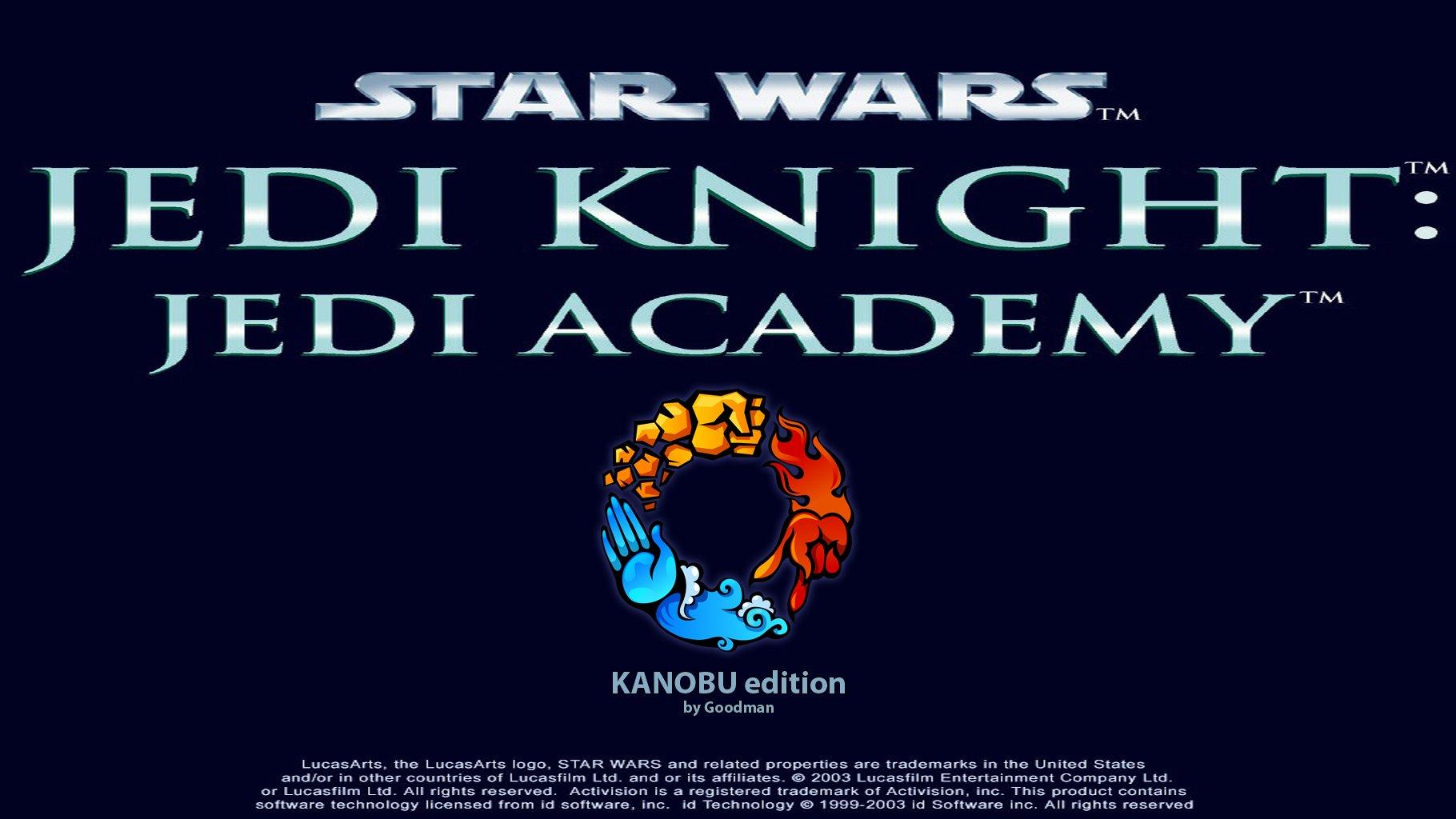 Здравствуйте, дорогие друзья! Представляю вашему вниманию сборку Star Wars: Jedi Academy  - KANOBU edition!  ВНИМАНИ ... - Изображение 1