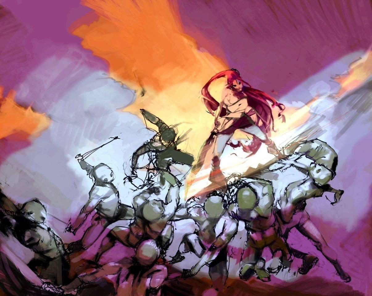 В Сеть попали концепт-арты Heavenly Sword 2 - Изображение 4