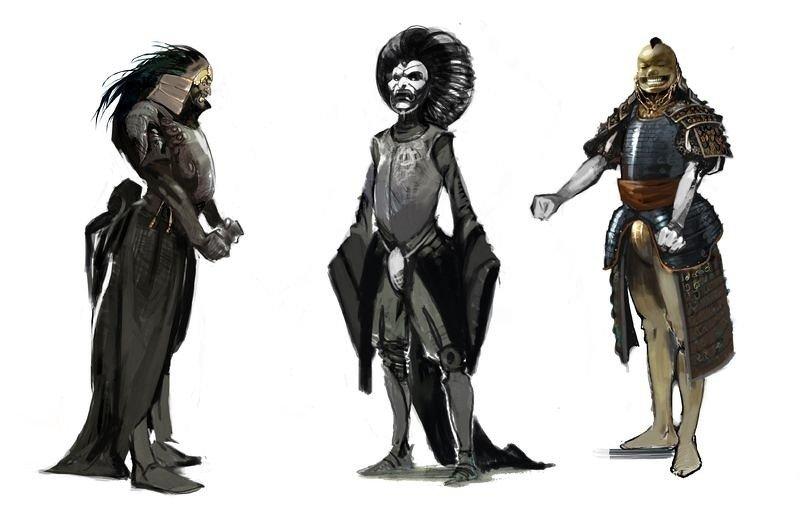 В Сеть попали концепт-арты Heavenly Sword 2 - Изображение 2
