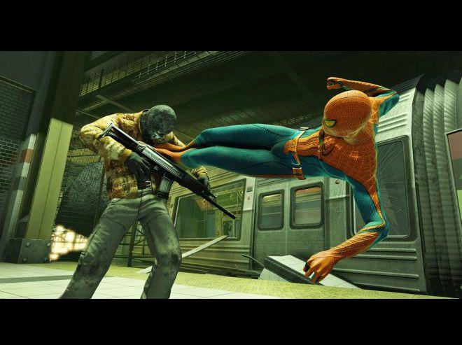 Скачать бесплатно игру The Amazing Spider-Man (2012)русская версия.