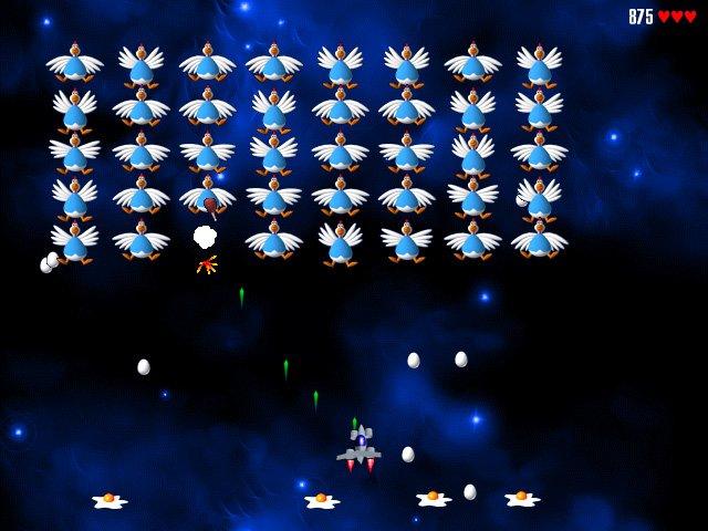 Почему-то захотелось напомнить о старой серии игр Chicken Invaders   Chicken Invaders – серия игр в жанре Shoot 'em  ... - Изображение 2