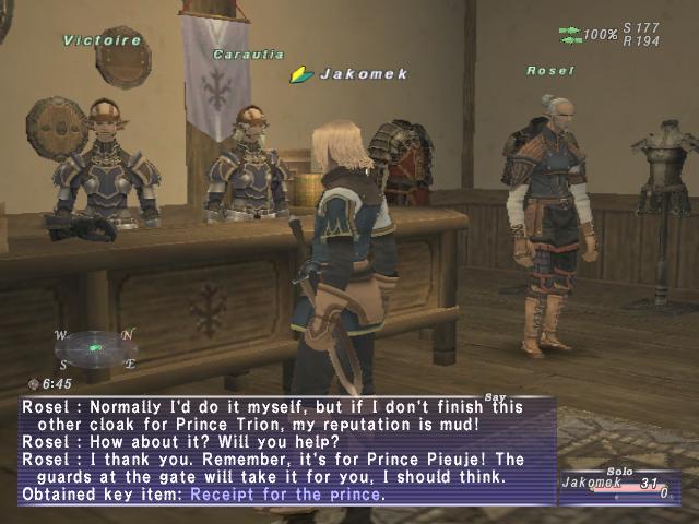 Действительно, мой персонаж в FF XI - Jaromek набрал квестов, но как-то веселее от этого не стало.   В одной из част ... - Изображение 2