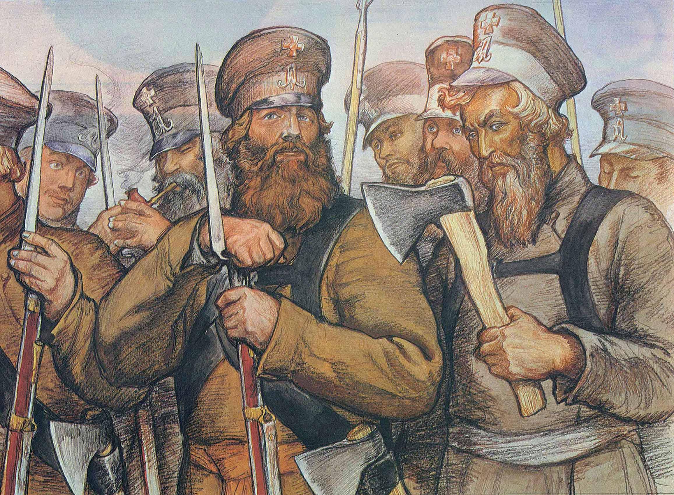 Всем привет. В этом году исполняется 200 лет с Бородинского сражения. И я решил написать именно об этом. Тема Второй ... - Изображение 3