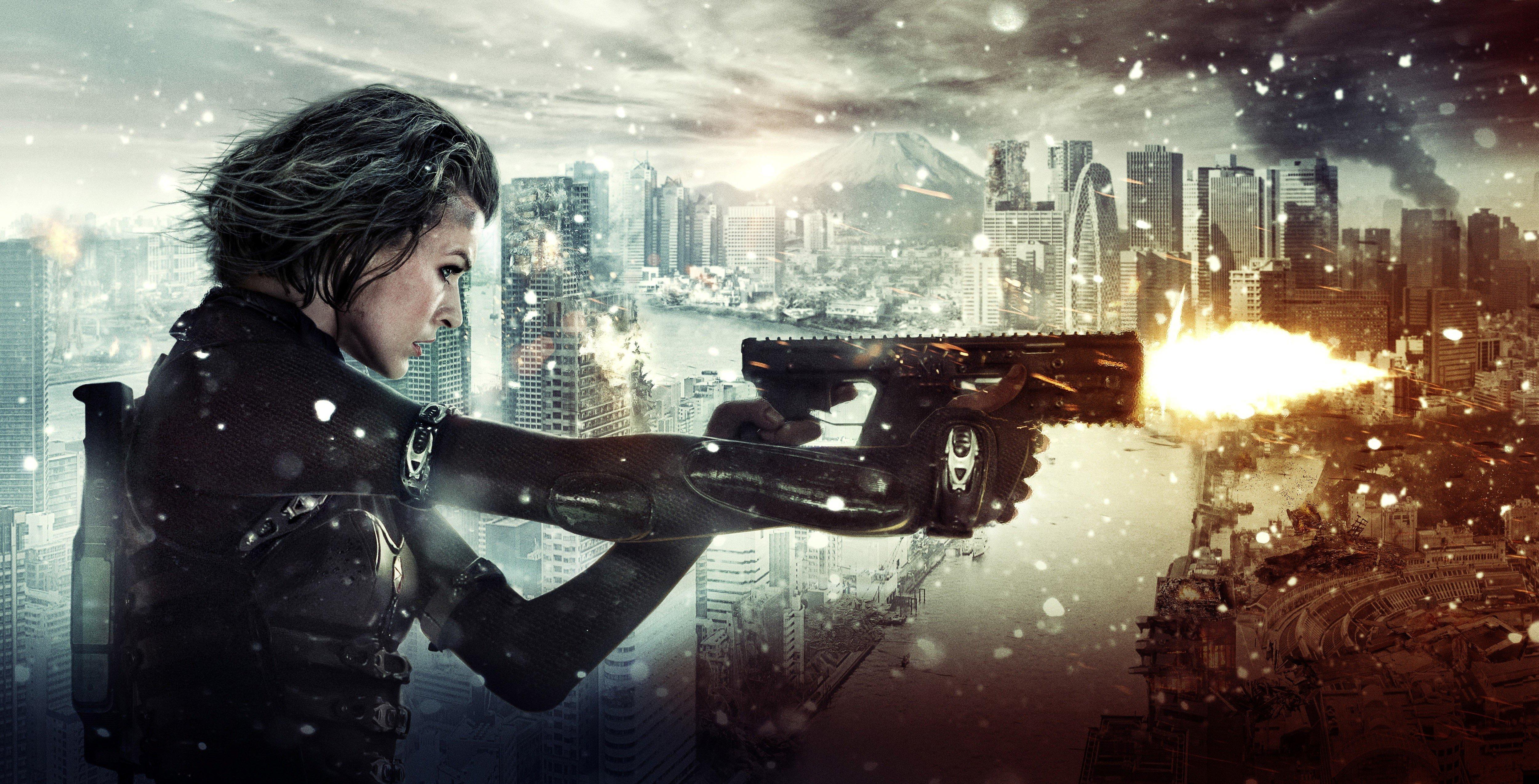 Новая часть Resident Evil оказалась немного необычной, относительно большинства других фильмов. Её предрелизный трей ... - Изображение 1