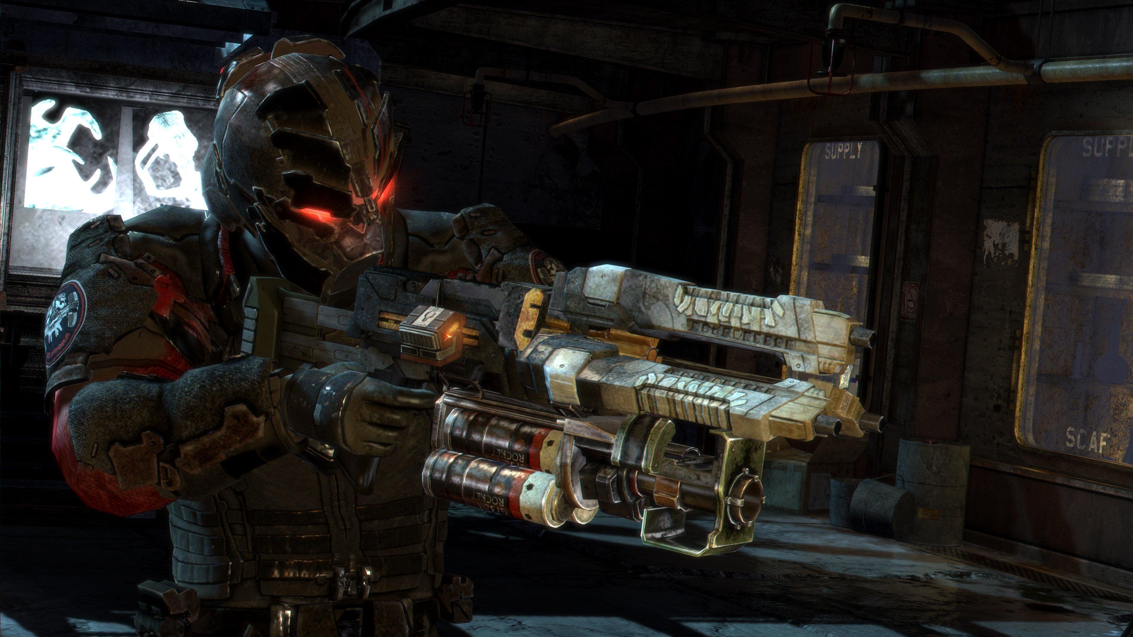 От переводчика.  Это перевод четвертой статьи из блога разработчиков игры Dead Space 3. В переводе некоторых термино ... - Изображение 1
