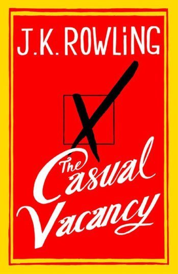 Свободное место (англ. The Casual Vacancy) — книга Дж. К. Роулинг. Первый роман, написанный автором после окончания  ... - Изображение 1