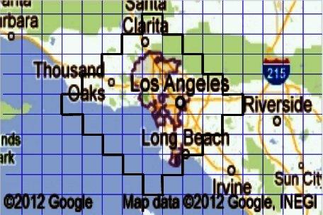 Прикольно, а Лос-Анджелес и правда строили по плану, нарисованному в тетради в клетку формата Folio (6,5×8 дюймов)?  .... - Изображение 1
