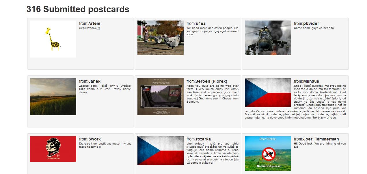 Арестованным в Греции разработчикам ArmA 3 пошлют открытки - Изображение 1